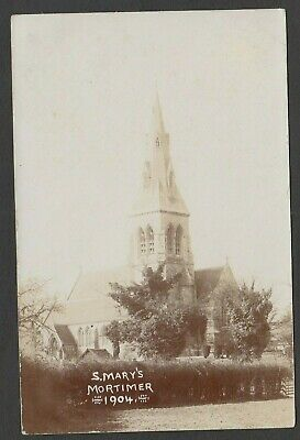 Postcard Stratfield Mortimer Nr Reading Berkshire Church St Mary's RP Terry Hunt • 6.99£