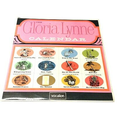 'The Gloria Lynne Calendar' 1967 Vocalion Jazz/Vocal Vinyl LP EX/VG+ Superb Copy • 12.95£