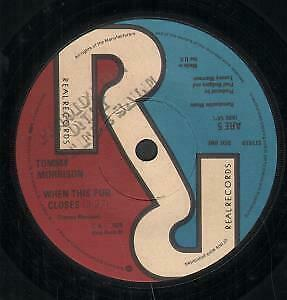 TOMMY MORRISON When This Pub Closes 7 INCH VINYL UK Real 1978 B/W Iron Bird • 3.40£