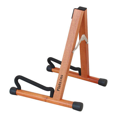 $ CDN32.94 • Buy Mahogany Wood Guitar Stand A-frame Portable Guitars Stand For Guitars Parts Accs