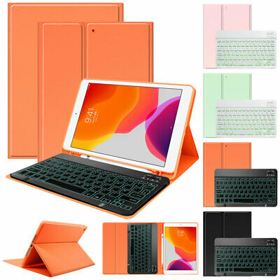 AU29.39 • Buy For IPad 6th Gen 7th Gen 2019 Pro Air New Keyboard Case Stand With Pencil Holder