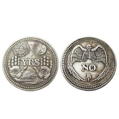 £2.20 • Buy Yes Or No Skull Commemorative Coin Souvenir Challenge Collectible Coins Gift