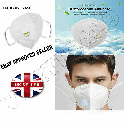 £2.95 • Buy Nontoxic Reuseable Respirator FACE MASK Mouth & Nose Dust/Pollution Mask