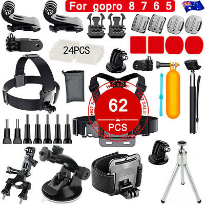 AU23.86 • Buy Basic Accessories Bundle Kit For GoPro Hero /Black/Silver HD Hero 8 7 6 5 4 3 AU