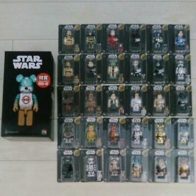 $399.99 • Buy BE@RBRICK 100% 400% STAR WARS Happy Lottery Set Lot Of 31 Rare Medicom Bearbrick