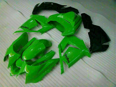 $509.99 • Buy NT Fit For Kawasaki 2004 2005 ZX10R Injection Molded Green Black Fairing Kit Y06