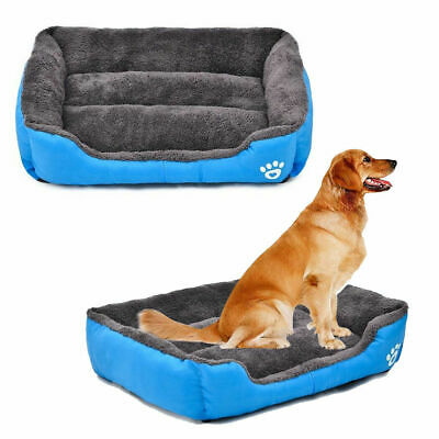 AU22.49 • Buy Warm Kennel Soft Large Pet Dog Cat Bed Chic Cushion House Puppy Pet Dog Mat