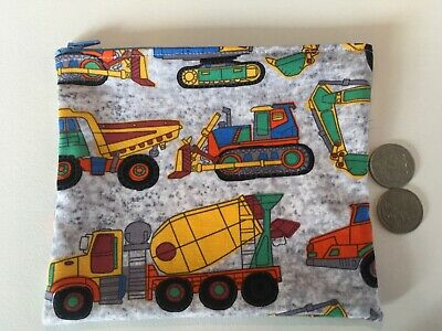 AU7 • Buy  Tractor Cement Truck Bulldozer Toy Holder Medicine Purse 18 X 15 Cm