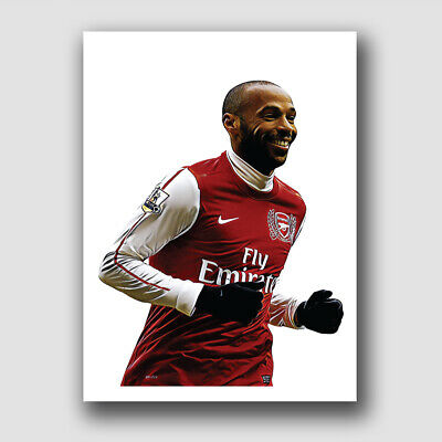 £14.99 • Buy Arsenal - Thierry Henry Framed Football Print Poster - The Gunners!