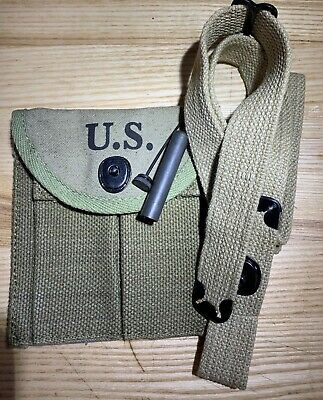 $30.97 • Buy Wwii M1 Carbine Rifle Accessories Sling Oiler & Butt Stock Ammo Pouch Boyt 43