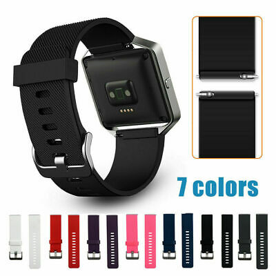 AU7.79 • Buy Replacement Silicone Bracelet Wristband Gel Band Strap For FITBIT BLAZE Sport