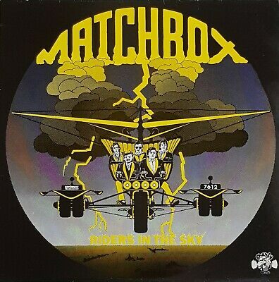 Rockabilly - Matchbox - 'riders In The Sky' - Lp - '76 - Cr 30157 • 8£