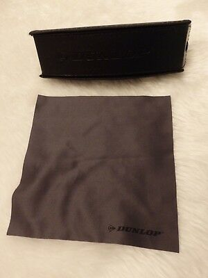 Used - Dunlop Black Glasses / Sunglasses Case & Cloth - Proceeds To Charity • 3.99£