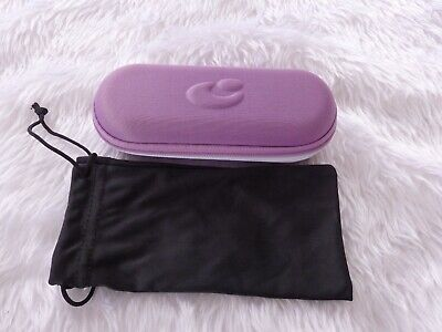 £2.99 • Buy Used - Centrostyle Purple Glasses Case & Black Pouch -proceeds To Charity