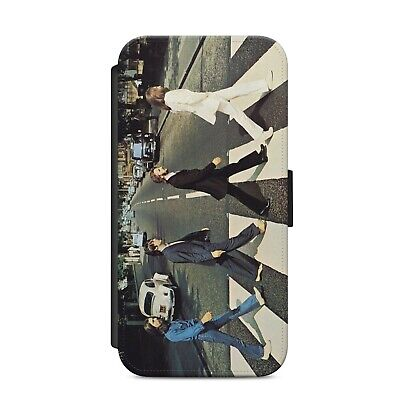 £9.29 • Buy Beatles Abbey Road Music Lover H27 WALLET PHONE CASE COVER For IPHONE & SAMSUNG