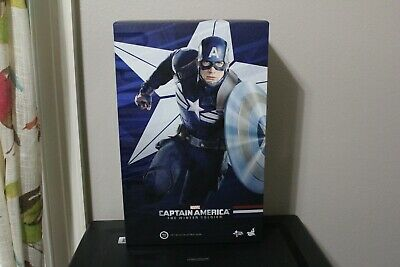 $295 • Buy Captain America Stealth Strike Suit The Winter Soldier Hot Toys MMS 242
