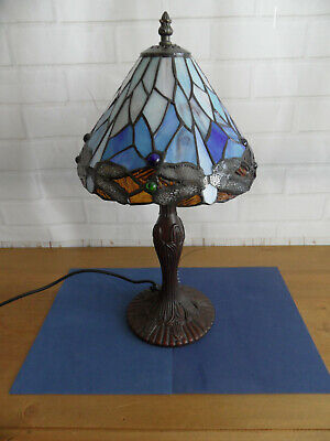 Tiffany Dragon Fly Style Table Lamp • 24.99£