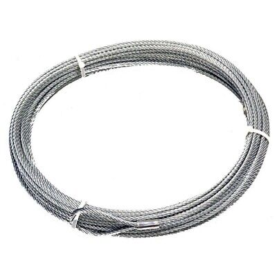 $171.73 • Buy Warn 25987 Winch Cable & Hook 5/16  X 125' NEW