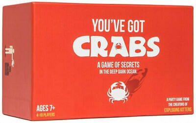 AU25 • Buy EXPLODING KITTENS You've Got Crabs Board Game
