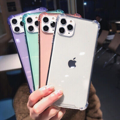 AU4.18 • Buy For IPhone 11 Pro XS Max 8 7 6 Plus Drop Proof Transparent TPU Clear Case Cover