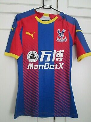 Crystal Palace 2018-2019 Pro Fit Player Home Football Shirt BNWOT / 44248 • 29.99£