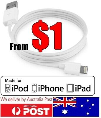 AU2.80 • Buy Compatible IPhone, IPad  Lightning Data Charger Cable