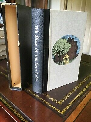$18 • Buy Heritage Press,Limited Editions Club,The House Of The Seven Gables,Slipcase,Sand