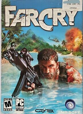AU16.40 • Buy Far Cry 2004 PC Game Rated M 5 Disc Set PC CD-ROM Tested