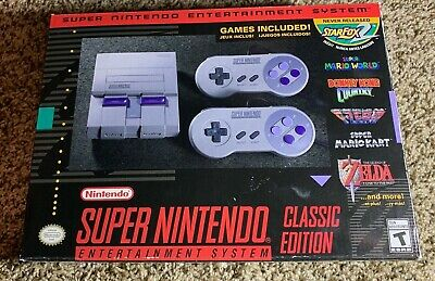 $ CDN151.60 • Buy Super Nintendo Entertainment System SNES Classic Edition With 8bitdo Receivers