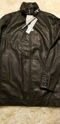 £658.95 • Buy Nwt $3800 Rick Owens Oversized Jacket In Washed Distressed Leather 44 42 Julius