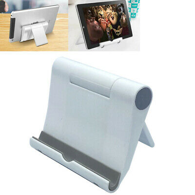 $5.25 • Buy Adjustable Portable Desktop Stand Desk Holder For Tablet Cell Phone IPad IPhone
