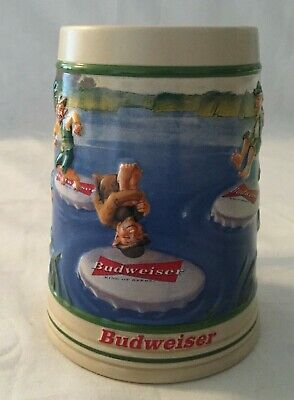 $ CDN39.99 • Buy Budweiser St. Patrick's Day 2000 Leapin' Leprechauns Stein No COA No Box CS411
