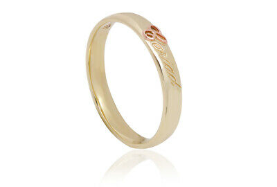 NEW Welsh Clogau 9ct Yellow & Rose Gold Cariad Ring £150 Off! SIZE L • 150£