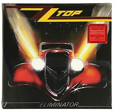 AU37.49 • Buy ZZ Top 'Eliminator' Red Coloured LP Vinyl - New & Sealed