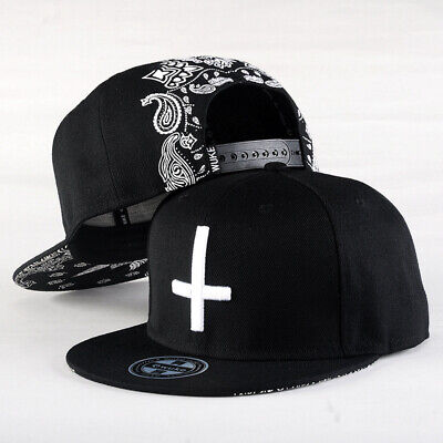 Snapback Baseball Hat Ten Times Embroidery Adjustable Hats Street Dance Caps • 8.93£