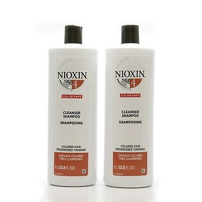 AU53 • Buy NIOXIN System 4 Cleanser Shampoo Duo Set 33.8 Oz (Pack Of 2)