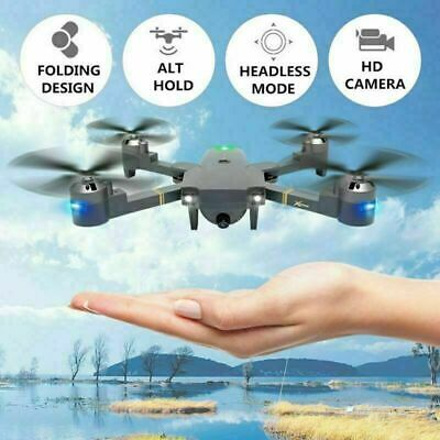 AU55.48 • Buy Attop XT-1PLUS Drone FPV Wifi Wide Angle Camera RC 20mins Fly Time Quadcopter HD