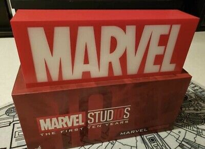 $ CDN213.97 • Buy IN HAND  Hot Toys Marvel Studios 10th Anniversary Light Box Red