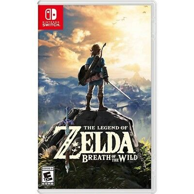 $54.99 • Buy The Legend Of Zelda: Breath Of The Wild Nintendo Switch New Sealed Free Shipping