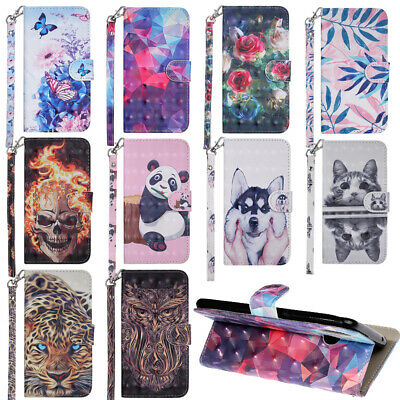 For Huawei P Smart 2019 P30/20/8 Lite Flip Wallet Leather Stand Phone Case Cover • 4.88£