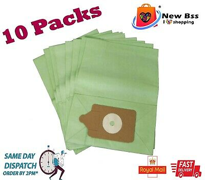 £6.47 • Buy 10 X Paper Dust Bags For Henry Hoover Bags Vacuum Cleaner Non Genuine