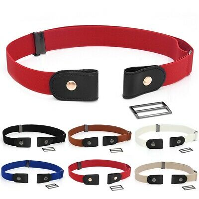 Buckle-free Elastic Invisible Belt For Jeans No Bulge No Hassle Waist Belt • 3.69£