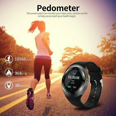 AU16.04 • Buy Waterproof Y1 Smart Watch SIM Camera Wristwatch For IPhone Samsung Android Phone