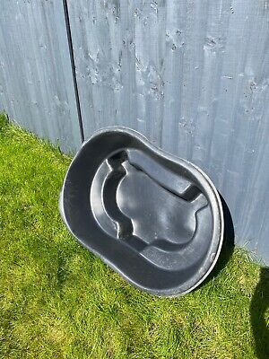 Preformed Fish / Natural Pond, Used, 100 X 70 X 30cm, 140ltrs (30 Gallons) • 10£