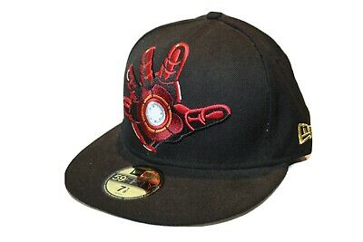 IRON MAN Marvel Comics Hero New Era 59FIFTY Character Basic FITTED CAP • 34.99£