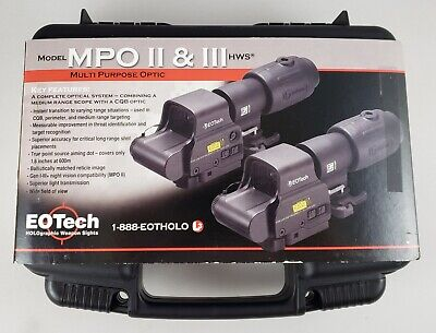 $500 • Buy Eotech Model Mpo Ii Hws Magnifying Holographic Rifle Scope