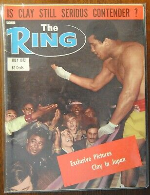 $3.99 • Buy 1972 The Ring Magazine-Cassius Clay Muhammad Ali Japan