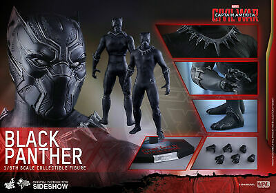 $225 • Buy Hot Toys 1/6 Captain America Civil War Black Panther MMS363 Figure. Used.