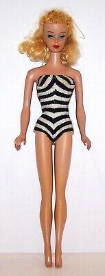 $ CDN145.24 • Buy Fabulous Vintage Blonde Ponytail Barbie Doll In Swimsuit And Outfit