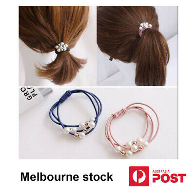 AU2.99 • Buy 5x Elastic Headbands, Hair Ties, Rope Ring, Hair Bands, Headwear Accessories